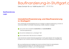 baufinanzierung-in-stuttgart.de