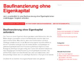 baufinanzierungohneeigenkapital.info