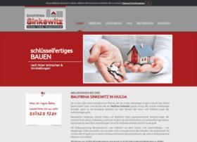 baufirma-sinkewitz.de