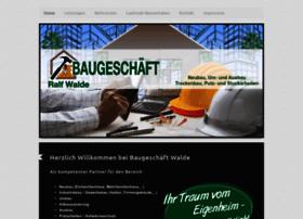 baugeschaeft-walde.de