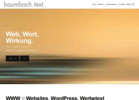 baumbach-text.de