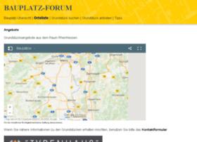 bauplatz-forum.de