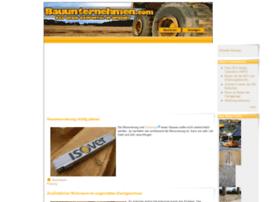 bauunternehmen.com
