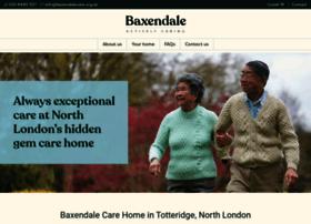 baxendalecare.org.uk