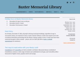 baxter-memorial.lib.me.us