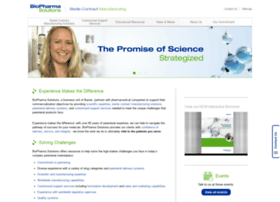 baxterbiopharmasolutions.com