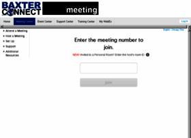baxterconnectmtg.webex.com