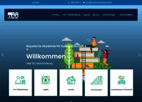 bayerischeakademie.de