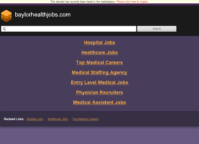 baylorhealthjobs.com