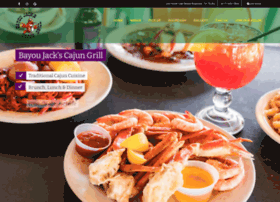 bayoujackscajungrill.com