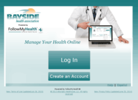 baysidehealth.followmyhealth.com