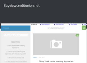 bayviewcreditunion.net