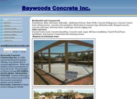 baywoodsconcrete.com