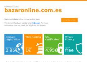 bazaronline.com.es
