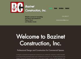bazinetconstruction.com