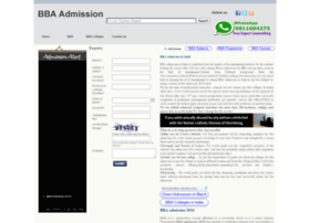 bbaadmission.co.in