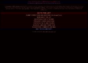 bbslist.textfiles.com