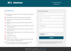 bcaadmission.in