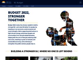 bcbudget.gov.bc.ca