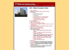 bcc.bilkent.edu.tr