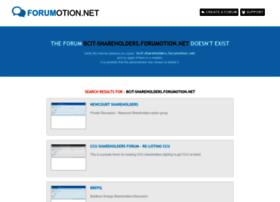 bcit-shareholders.forumotion.net