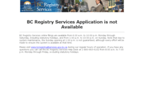 Bcregistryallservices.gov.bc.ca