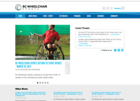 bcwheelchairsports.com