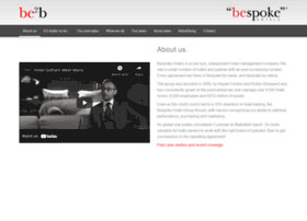 be2b.bespokehotels.com