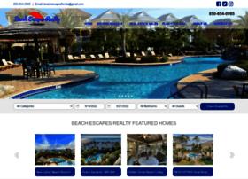 beachescapesrentals.com