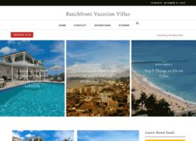 beachfrontvacationvillas.com