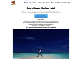 beachheaven-maldives.com