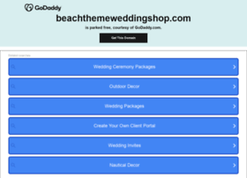beachthemeweddingshop.com