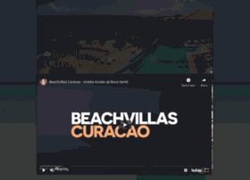 beachvillascuracao.com