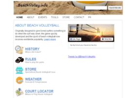 beachvolley.info