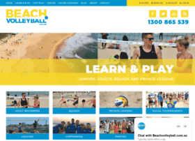beachvolleyball.com.au