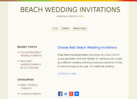 beachweddinginvitations.org