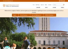 bealonghorn.utexas.edu