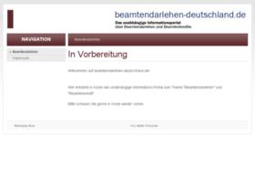 beamtendarlehen-deutschland.de