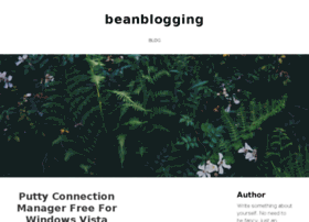 beanblogging.weebly.com