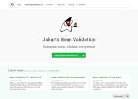 beanvalidation.org