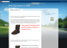 bear-paw-boots-for-kids.blogspot.com