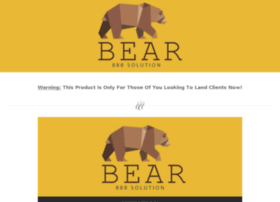 bearbbbsolution.com