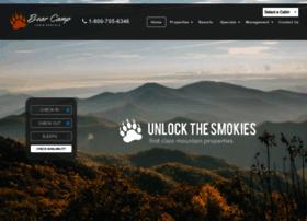 bearcampcabins.com
