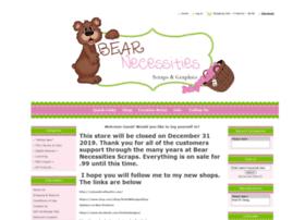 bearnecessitiesscraps.com