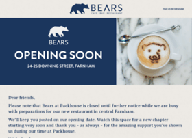 bearsrestaurant.com