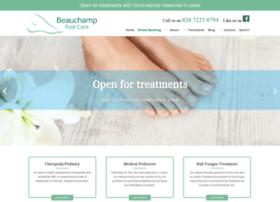 beauchampfootcare.com