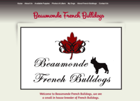 beaumondefrenchbulldogs.com