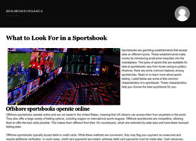 beaumondeorganics.com