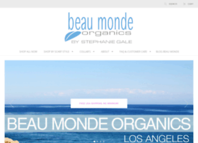 beaumondeorganics.com