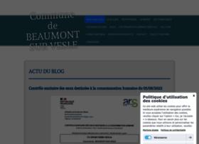 beaumontsurvesle.fr